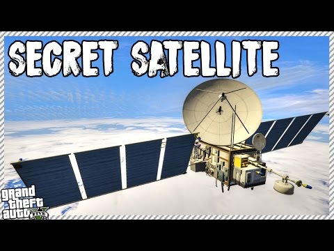 FINDING SECRET SPACE SATELLITE IN GTA 5 (GTA 5 GAMEPLAY)