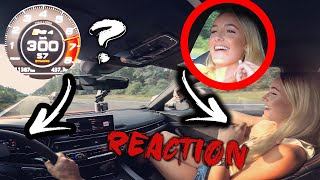 300 KM/H im Audi RS4 ? - TOP SPEED - ACCELERATION - REACTION | Knallgas