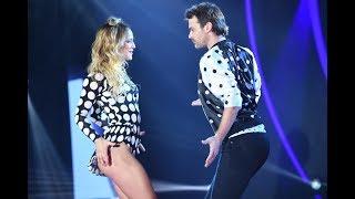A pura cumbia, Pedro Alfonso y Flor Vigna bailaron