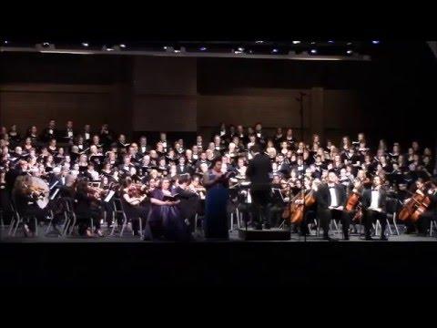 Raehann Bryce-Davis sings Liber scriptus from Verdi's Requiem