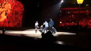Joey Heindle Heiratsantrag bei Apassionata in Dortmund 06.1
