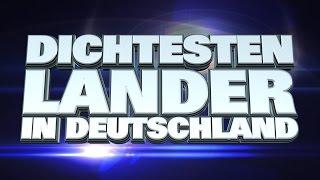 10 Dichtesten Lander in Deutschland
