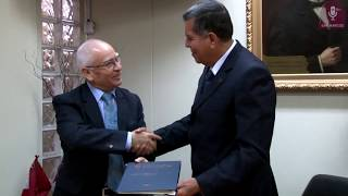 Tema: Firma de convenio con Municipalidad de Santa Cruz de Flores, Cañete