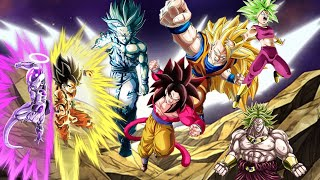 TEQ SSJ4 GOKU IS BEASTLY! FULL POWER CATEGORY SHOWCASE! Dragon Ball Z Dokkan Battle