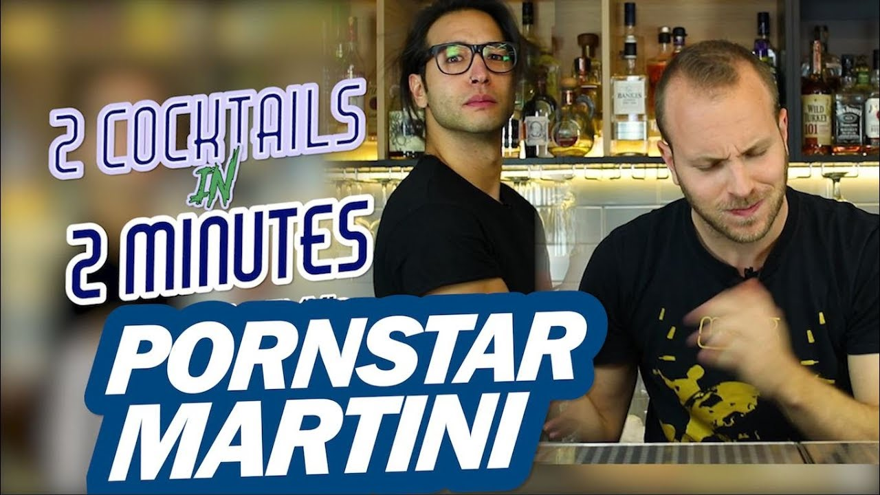 PORNSTAR MARTINI Cocktail Recipe - 2 Cocktails In 2 Minutes