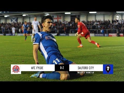 AFC Fylde 0-2 Salford City - National League 04/09/18