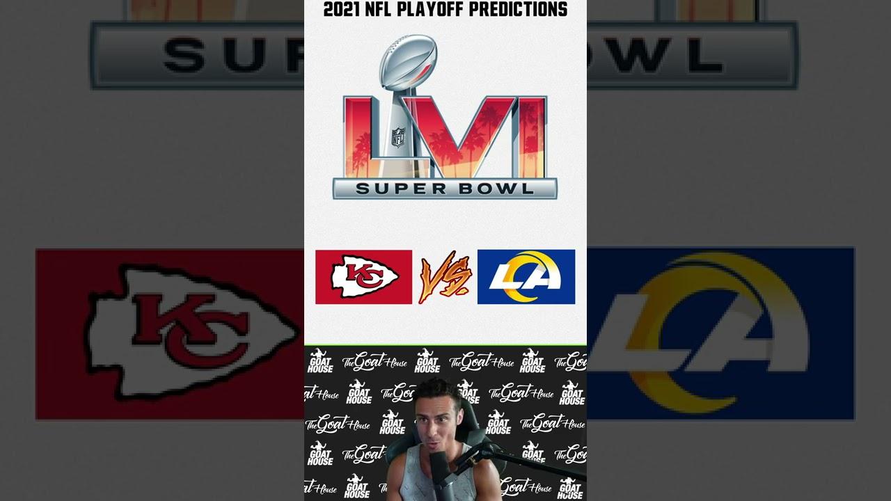 NFL Playoff Predictions #shorts