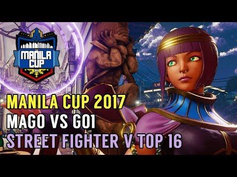 Mago (Karin) vs GO1 (Menat) - Manila Cup 2017 - Street Fighter V Top 16