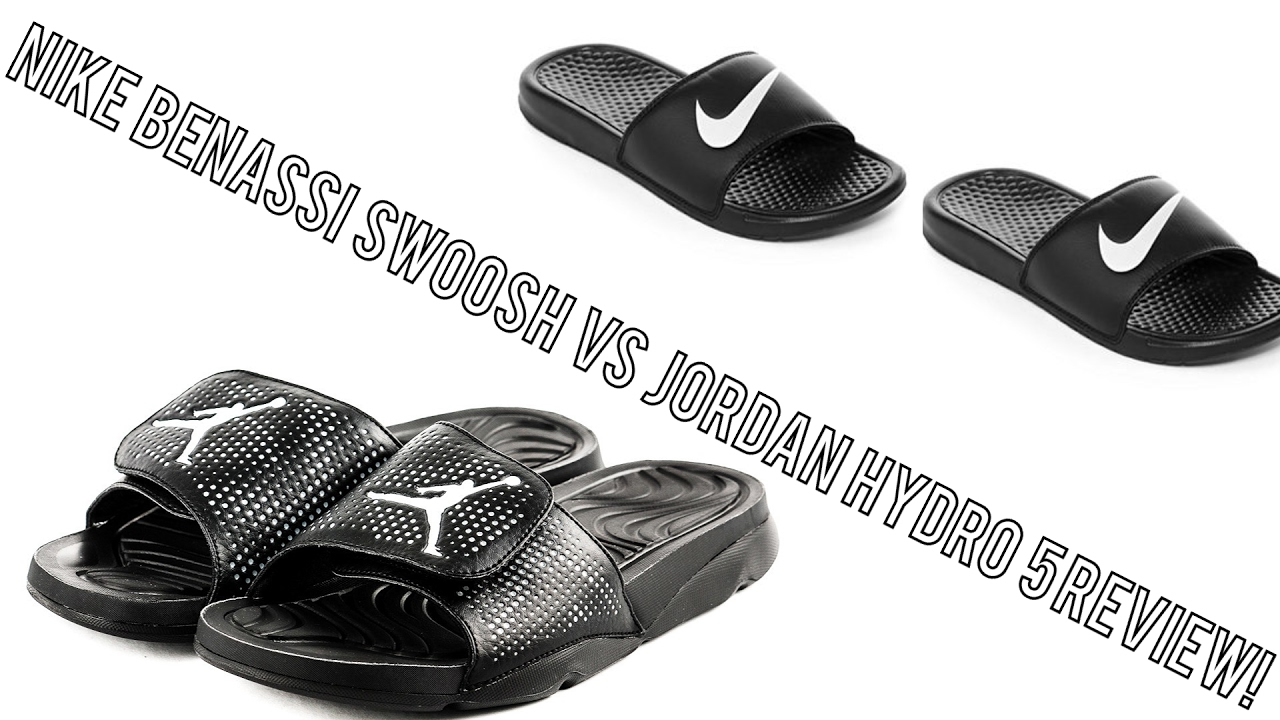 b51aa7d9f230 Hydro 5 VS Nike Slide Comparison And Review! - YouTube