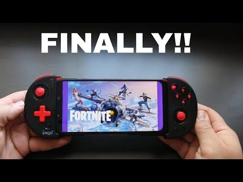 Fortnite Mobile With Controllers!!