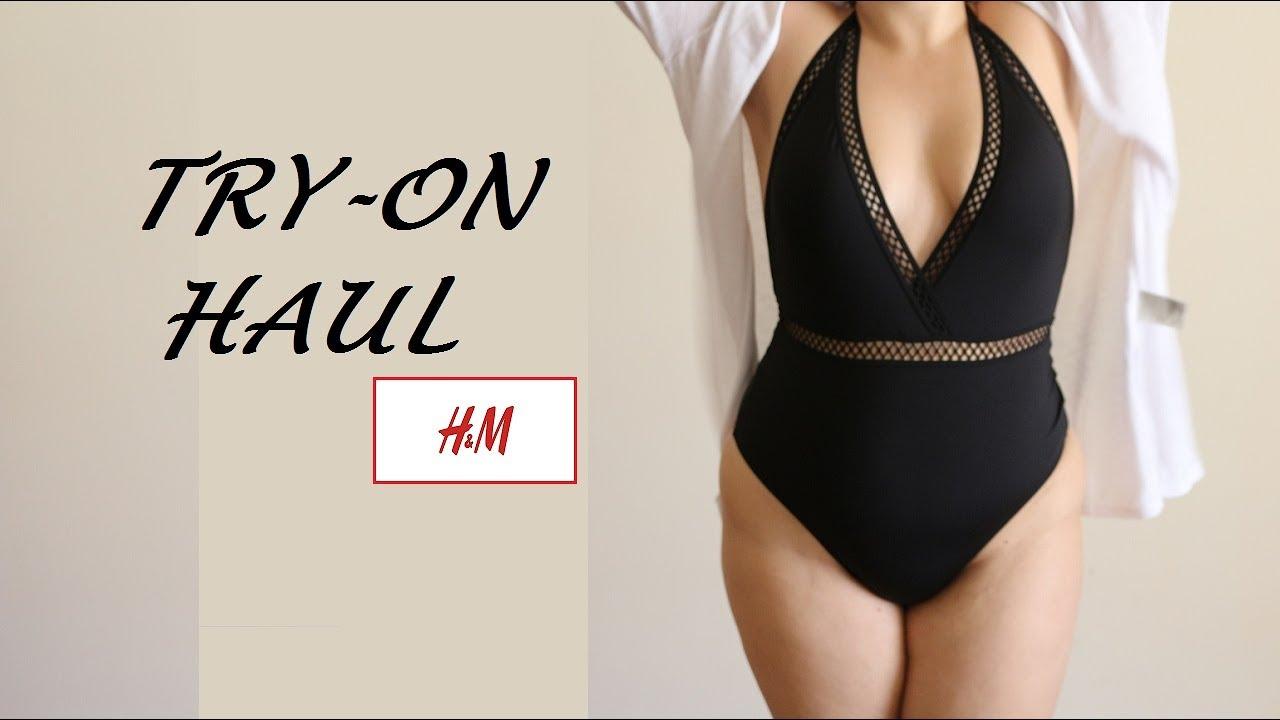 db472b2c64d Δοκιμάζω ρούχα και μαγιό από H&M | Demmie - YouTube