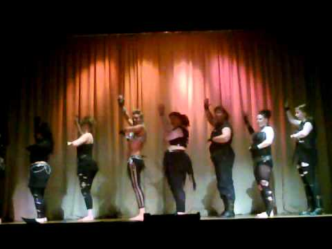 Zubaidah Belly Dancers Performing to Inertia Creeps by Massive Attack (Medusa)