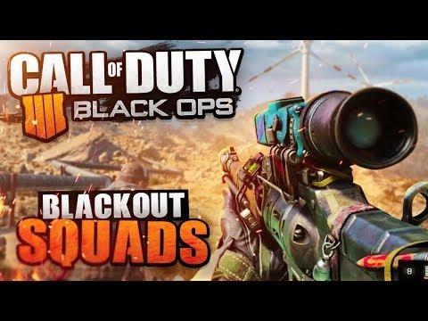 🔴 LIVE SQUADS! - CoD BLACKOUT - Black Ops 4 Battle Royale RTX Squads