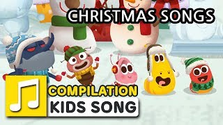 CHRISTMAS SONGS FOR KIDS | COMPILATION | LARVA KIDS