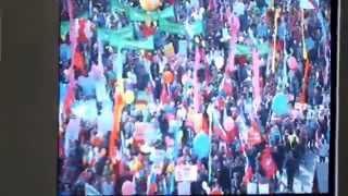 1 мая 2014 года. Демонстрация в Москве, на Красной площади - продолжение 2