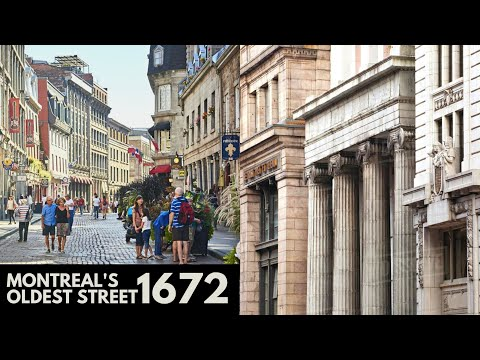 400 Years Worth of History and Architecture in Old Montreal