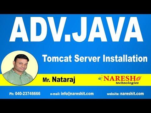Tomcat Server Installation | Advanced Java Tutorial | Mr. Nataraj