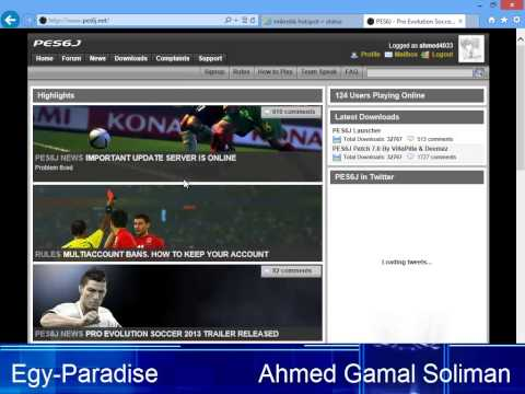 How To Play Pes6 Online 2013