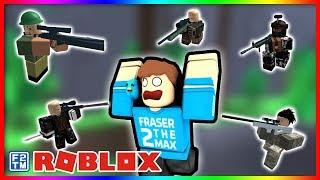 Sniping without a Scope in Roblox No-Scope Sniping