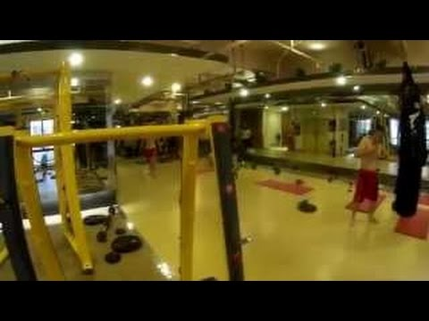 Legendary Hole-in-the-Wall Gym in Shanghai, China