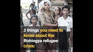 3 things you need to know about the Rohingya refugee crisis