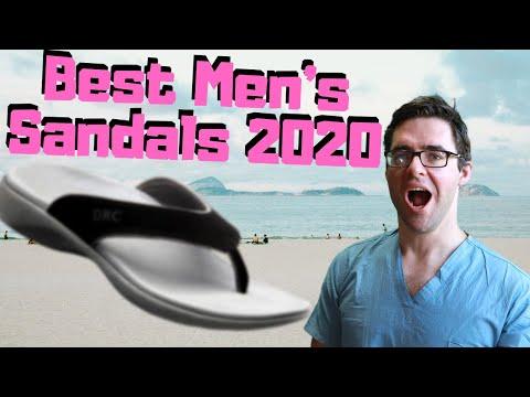 Best Men's Arch Support SANDALS 2020 [Top 5 for Plantar Fasciitis]