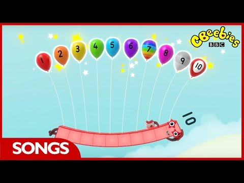 CBeebies | Numberblocks | Number 1-10 songs playlist