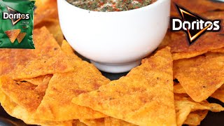 HOMEMADE DORITOS CHIPS RECIPE  BEST NACHOS EVER  Top Tasty Recipes
