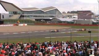 2011 F1 British Grand Prix - Vale - First Three Laps