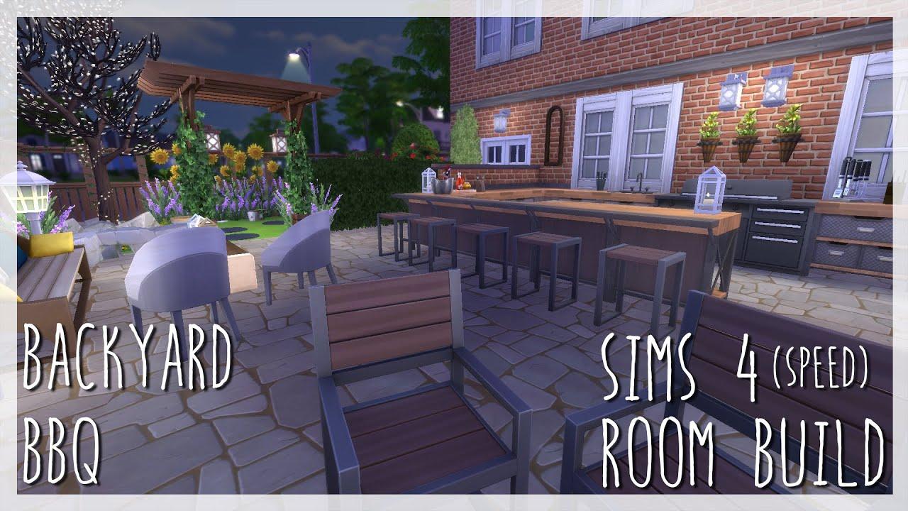 Backyard Bbq Sims 4 Room Build