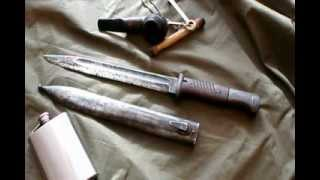 Bagnet S84/98 do karabinu Mauser. Nie recenzja :). PL.