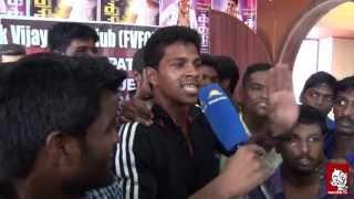 Actor Vijay Statue In Chennai | Kaththi | AR Murugadsoss