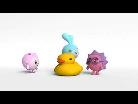 Малышарики | Все серии | Сборник мультиков про материалы
