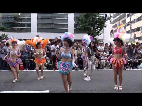 神戸祭り2015「サンバストリート」神戸サンバチーム