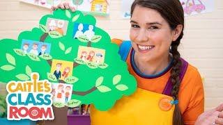 Caitie's Classroom Live  - Family! | Preschool Songs & Activities