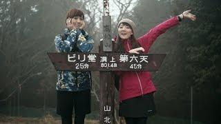 【ひとり登山部LOG】#32 南丹沢 高松山 山ガールと幻想的な霧の樹林帯【3人登山部】