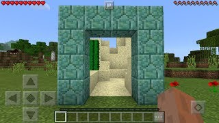 BEST PORTAL TRICK in Minecraft Pocket Edition 1.1+!!!
