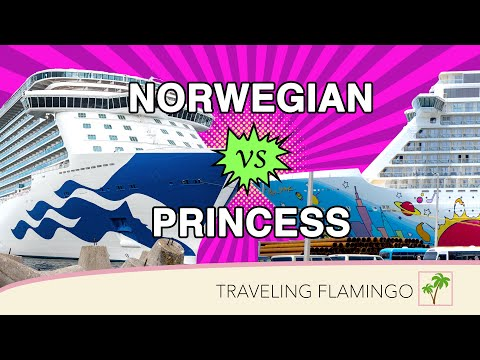 Norwegian Vs Princess Cruise Lines | Which Cruise Line Is For YOU?!