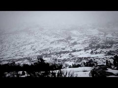 Correndo o tempo 005: Neve na Serra de Montemuro