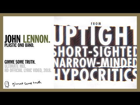 Gimme Some Truth (Ultimate Mix) - lyric video from YouTube · Duration:  3 minutes 19 seconds