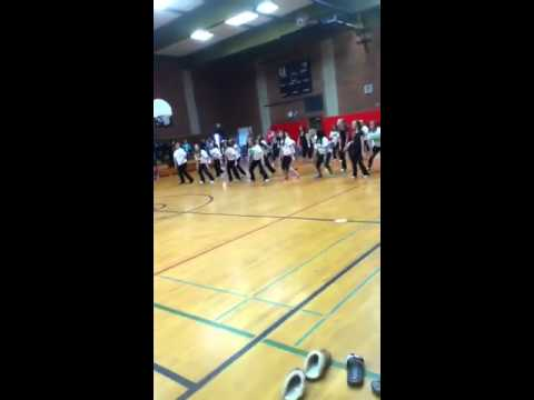 Tenino Middle School Flash Mob