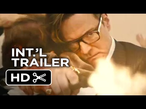 Kingsman: The Secret Service Official International Trailer #1 (2015) - Colin Firth Movie HD