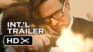 Kingsman: The Secret Service Official International Trailer #1 (2015) - Colin Firth Movie HD