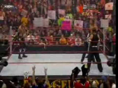 Jeff Hardy vs Triple H vs Edge (WWE Championship) Part 1 Armageddon