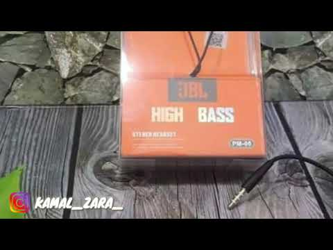 UNBOXING & REVIEW EARPHONE MURAH KUALITAS WAH!!! JBL PM-05