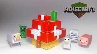 How to make a Minecraft MUSHROOM House!