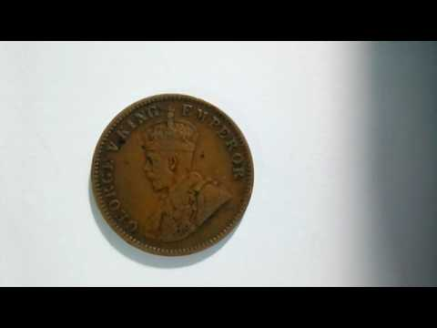 1936 One Quarter Anna Coin/Market Value/Cost/How to identify Real Coins