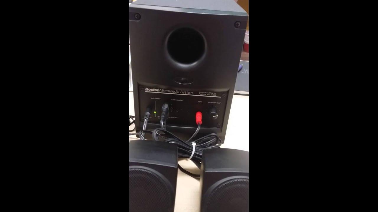 BOSTON MICROMEDIA SPEAKER DRIVERS FOR PC