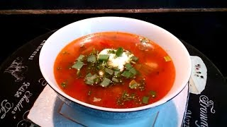 Суп с фрикадельками и солёными огурцами / По вкусу как солянка / Soup