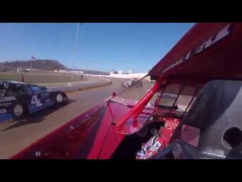Colton Flinner #48 In Car Camera Port Royal Speedway 3-8-20